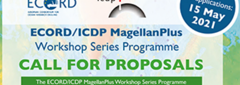 ECORD/ICDP MagellanPlus : Call for proposals